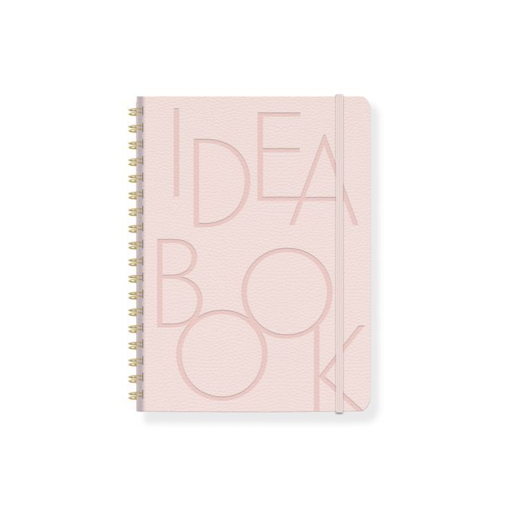 BOLD TYPE BLUSH FAUX LEATHER IDEA BOOK BULLET JOURNAL product image