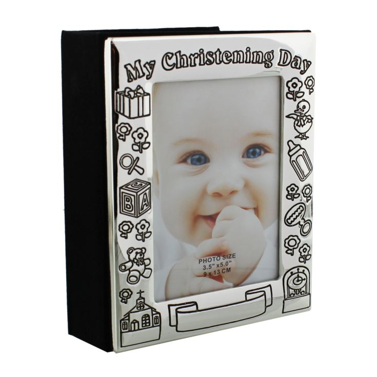 Silverplated My Christening Day Photo Album product image