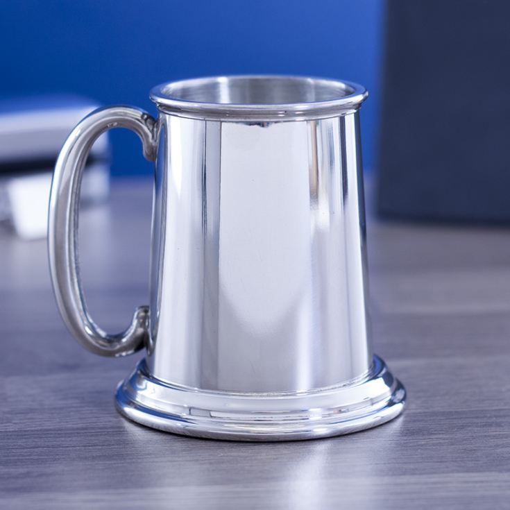 Engraved Page Boy Pewter Tankard product image