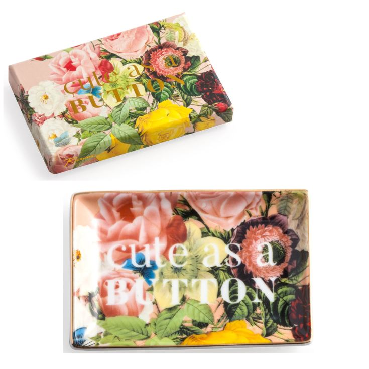 Rosanna Seven Sisters Cute as a Button Tray product image