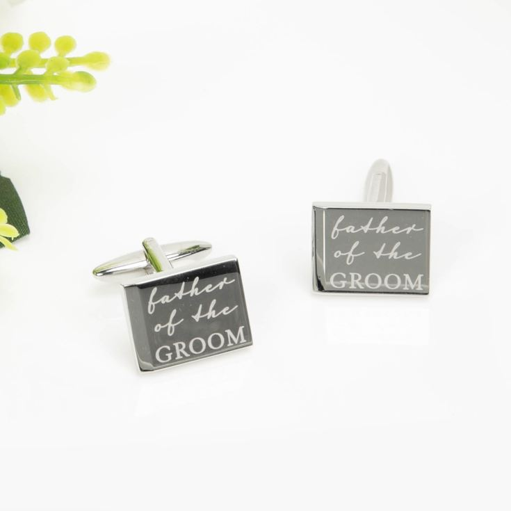 AMORE BY JULIANA® Father Of The Groom Cufflinks product image