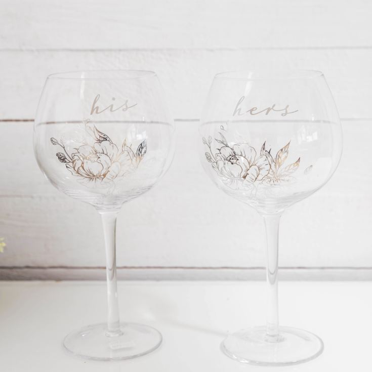 AMORE BY JULIANA® His & Hers Gin Glass Set product image