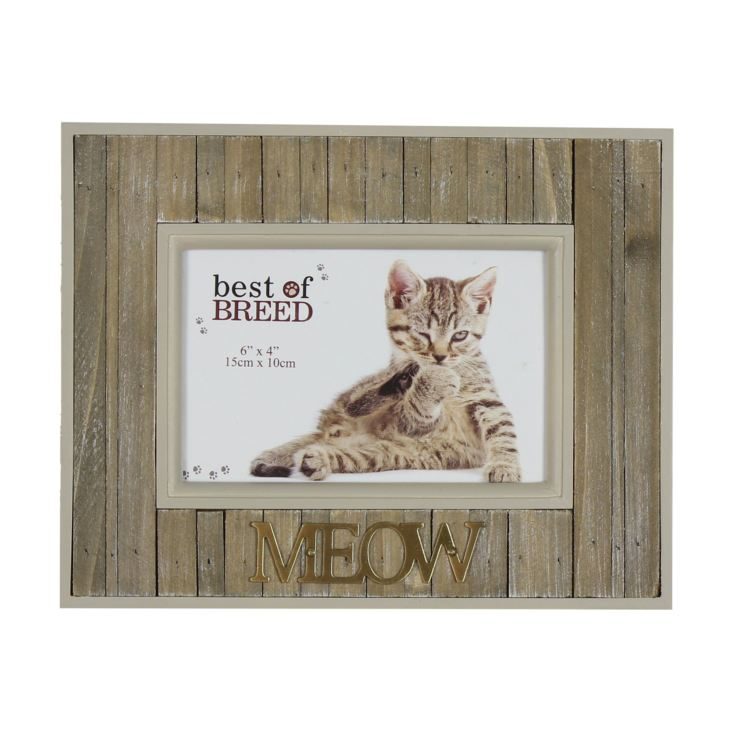 "6"" x 4"" - Best of Breed Panel Photo Frame - Meow product image"