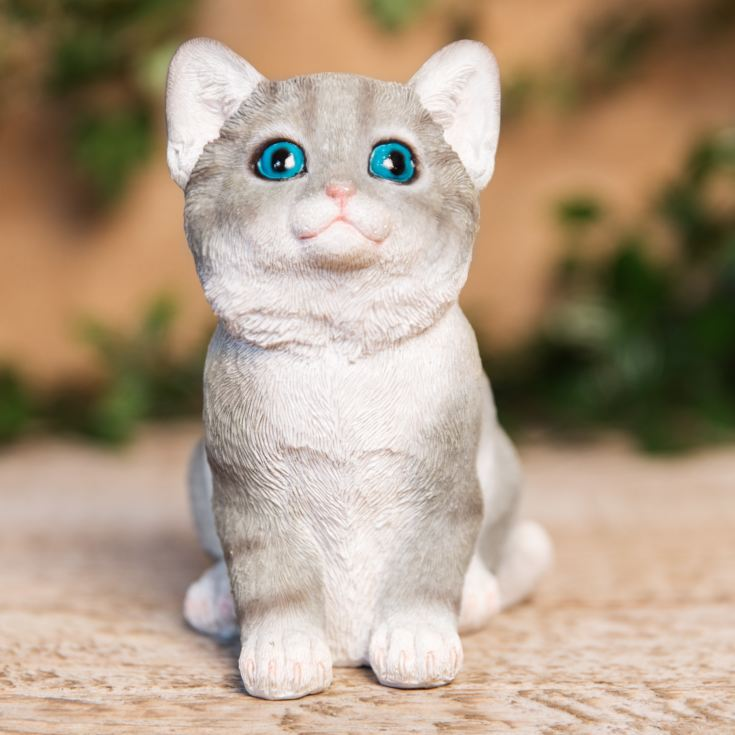 Best of Breed Collection - Grey & White Kitten Figurine product image