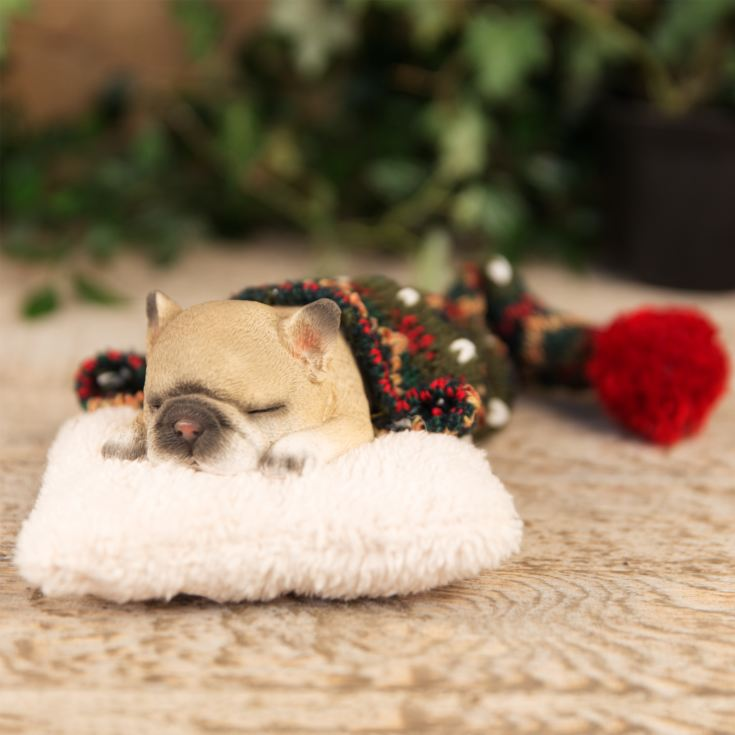 Best of Breed Collection - Sleeping Puppy with White Cushion product image