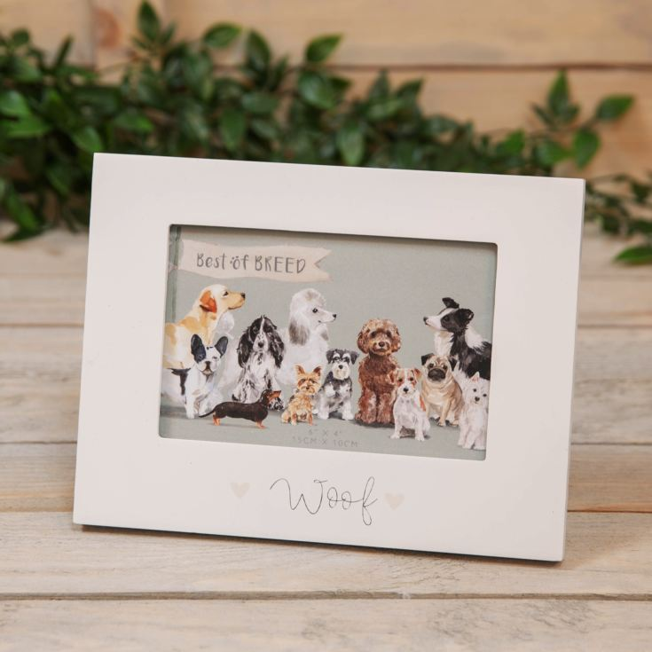 "6"" x 4"" - Best of Breed Wooden Frame - Dog product image"