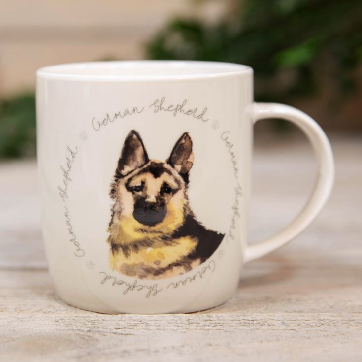 Best of Breed New Bone China Mug - German Shepherd product image