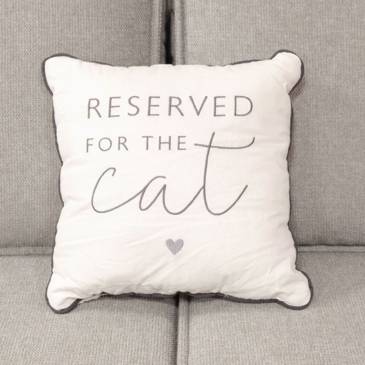 Best of Breed Cushion - Reserved For The Cat product image
