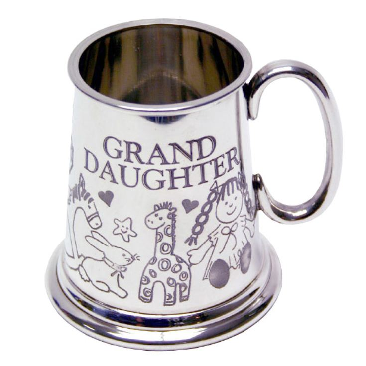 Pewter Granddaughter Mug product image