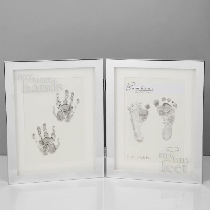 Bambino Double Handprint & Footprint Photo Frame product image