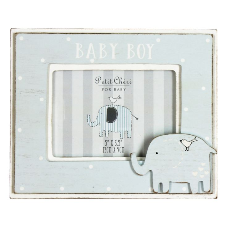 "5"" x 3.5"" - Petit Cheri Baby Boy Photo Frame product image"