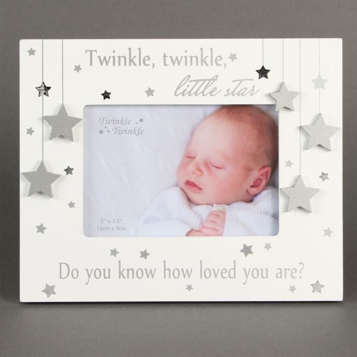 "5"" x 3.5"" - Twinkle Twinkle Silver Star Photo Frame product image"