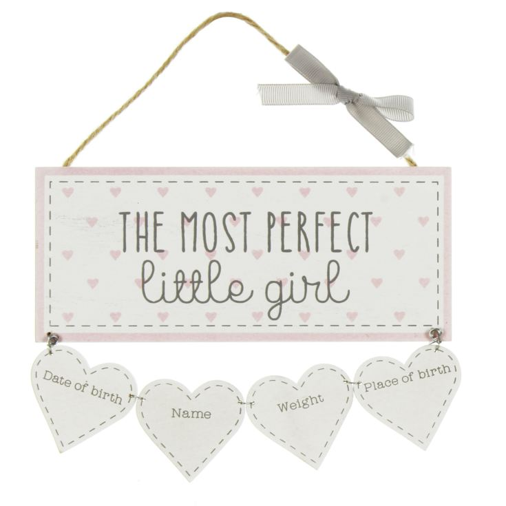 Petit Cheri 'Little Girl' Data Plaque product image