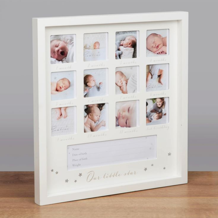 "2.5"" x 2.5"" - Bambino 1st Year Multi Frame - Little Star product image"