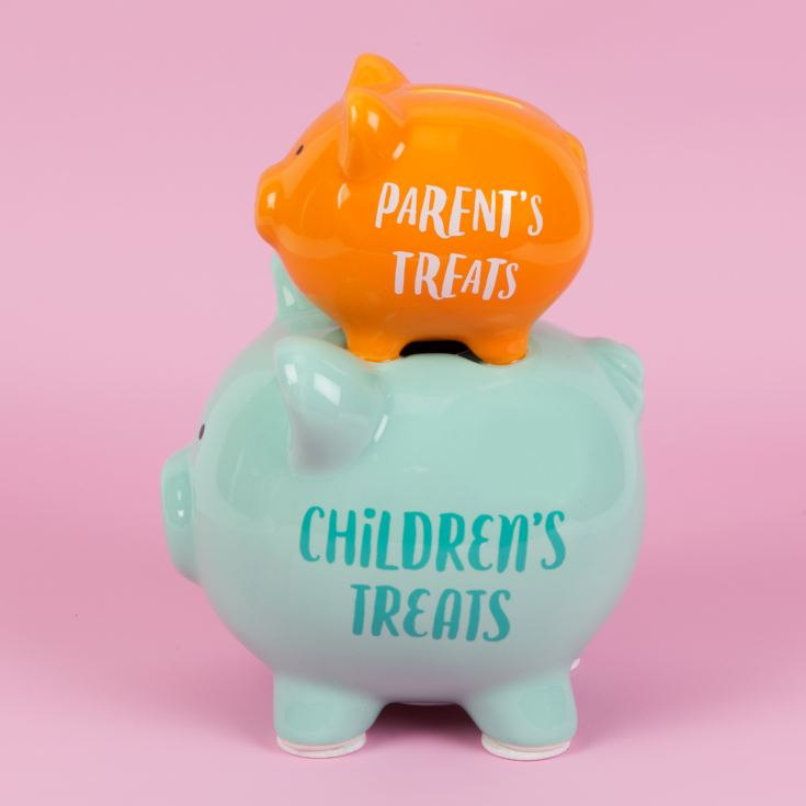 'Pennies & Dreams' Double Piggy Bank - Parents' Treats product image