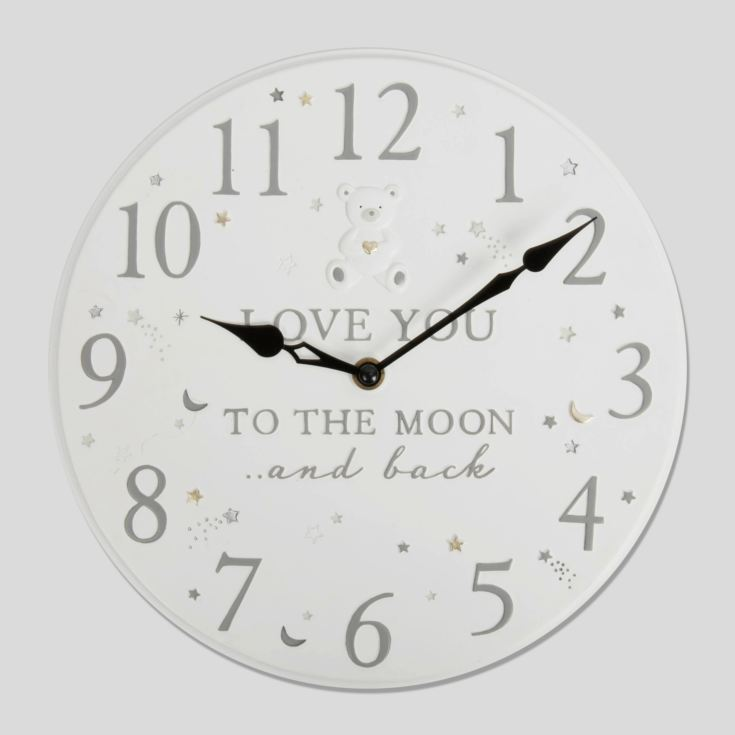 Bambino Love You To The Moon & Back Clock product image