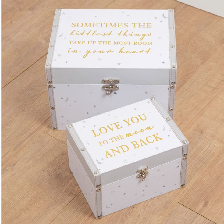 Bambino Set of 2 Storage Boxes product image