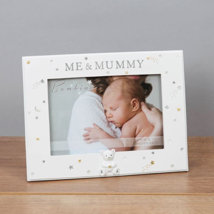 "6"" x 4"" - Bambino Resin Mummy & Me Photo Frame product image"