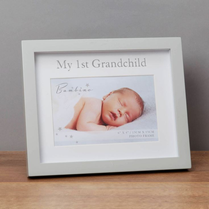 "6"" x 4"" - Bambino My First Grandchild Frame in Gift Box product image"