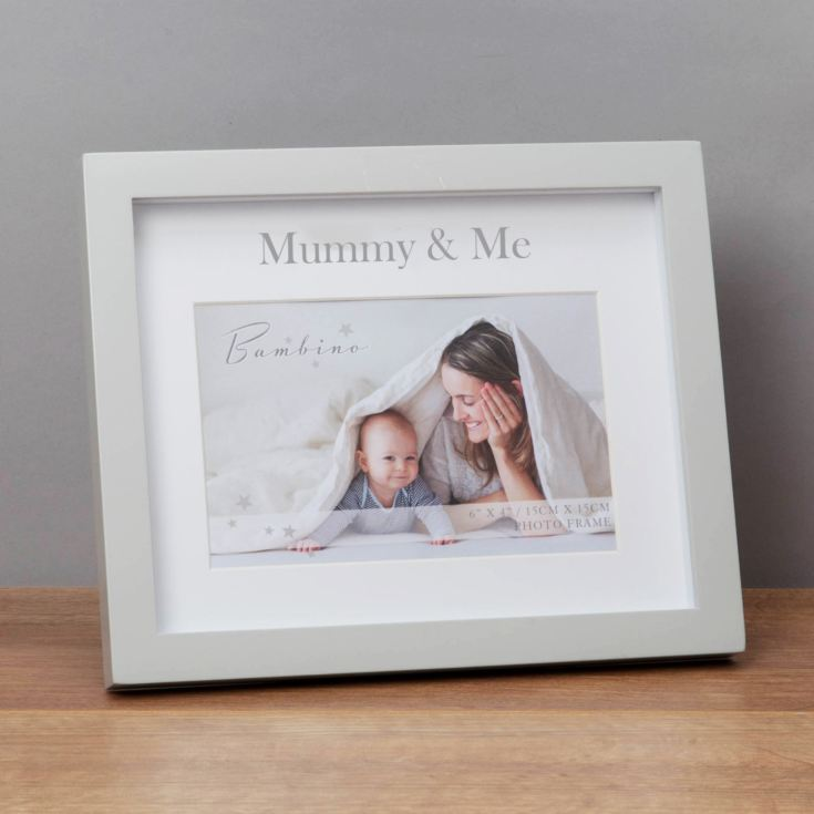 "6"" x 4"" - Bambino Mummy & Me Frame in Gift Box product image"