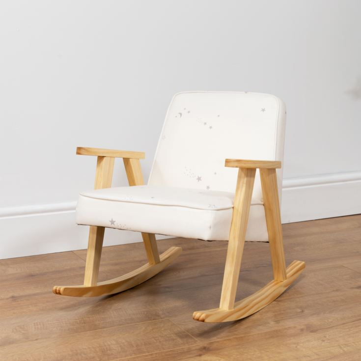 Bambino Small White Rocking Chair product image