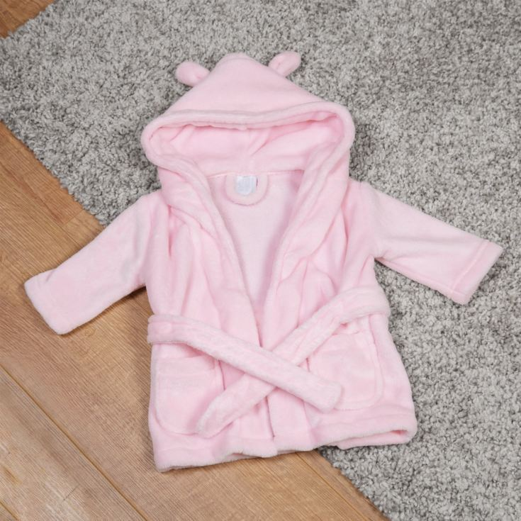 Bambino Baby's First Bathrobe - 3 to 6 Months - Pink product image