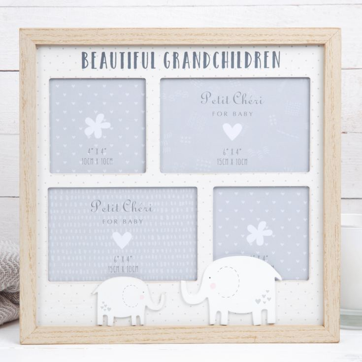 Petit Cheri Multi Aperture Photo Frame - Grandchildren product image