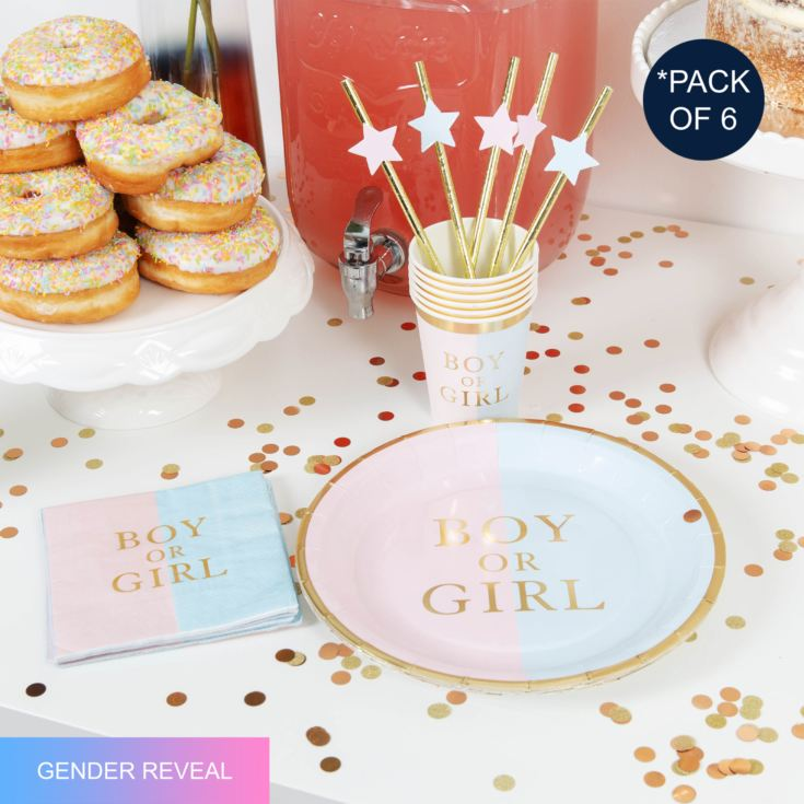 Bambino Gender Reveal Party Pack - Hello Baby product image