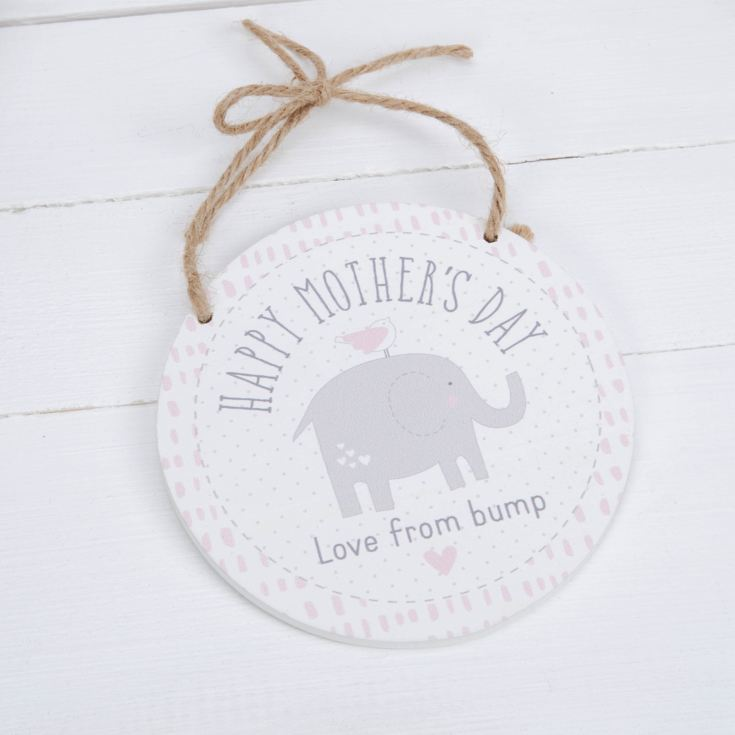 Petit Cheri Hanging Plaque - Happy Mother's Day From Bump product image