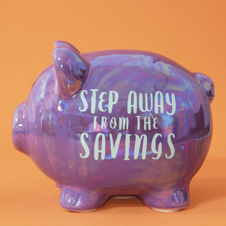 Pennies & Dreams Ceramic Piggy Bank - Step Away product image