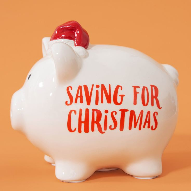 Pennies & Dreams Ceramic Piggy Bank - Christmas product image
