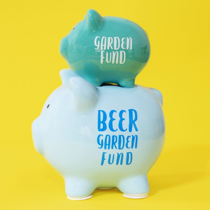 Pennies & Dreams Double Piggy Bank - [ Beer ] Garden Fund product image