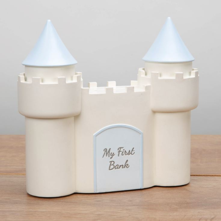 CELEBRATIONS® Castle Money Box - Blue product image