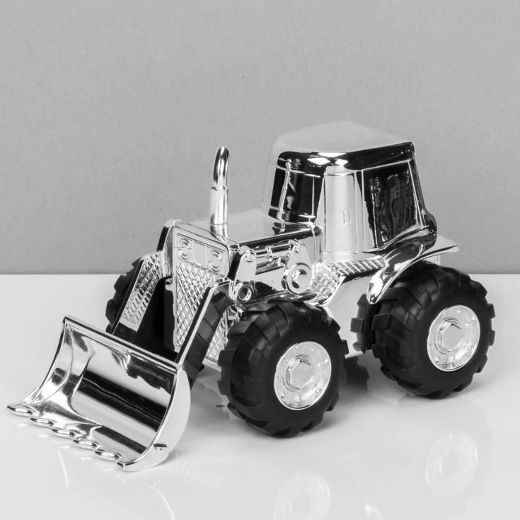 Bambino Silver Plated Digger Money Box product image