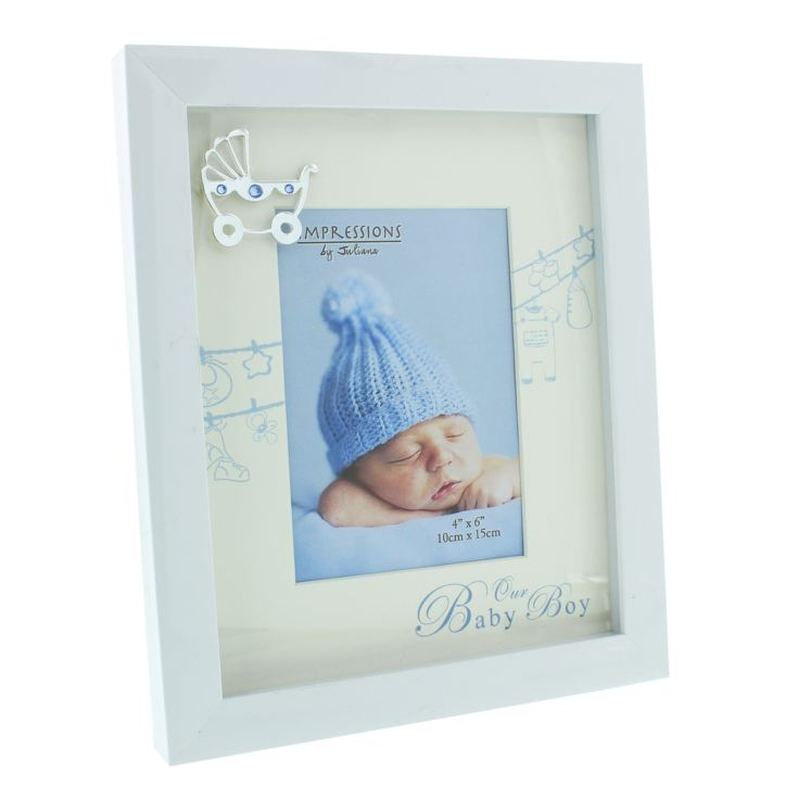 "4"" x 6"" - Celebrations Our Baby Boy Photo Frame product image"