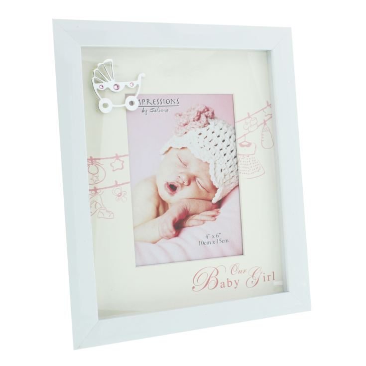 "4"" x 6"" - Celebrations Our Baby Girl Photo Frame product image"