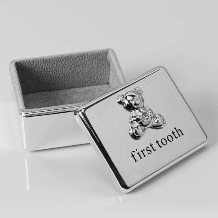 Bambino Silver Plated First Tooth Keepsake Box product image