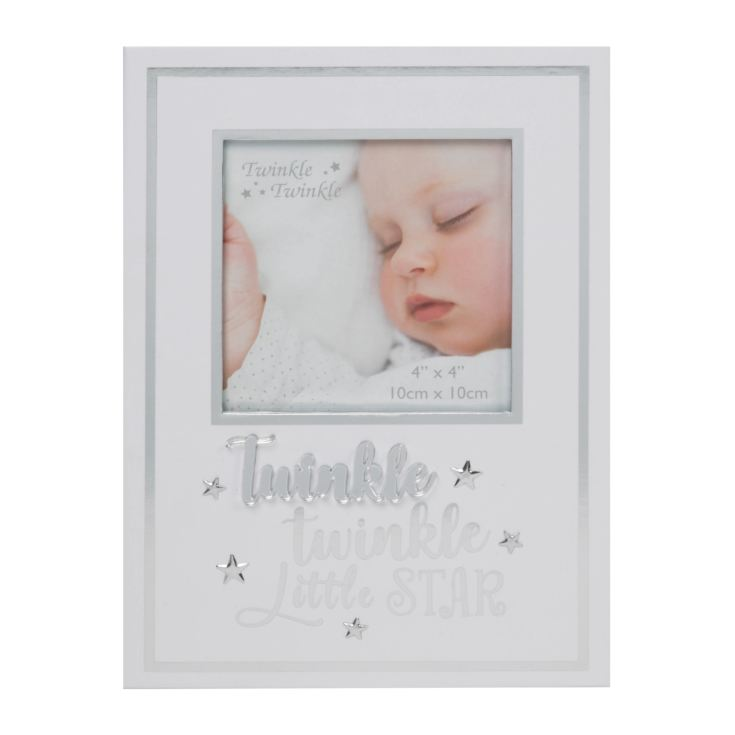 "4"" x 4"" - Twinkle Twinkle Photo Frame 3D Letters product image"