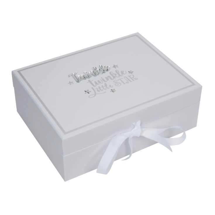 Twinkle Twinkle Baby Keepsake Box with 5 Compartments product image