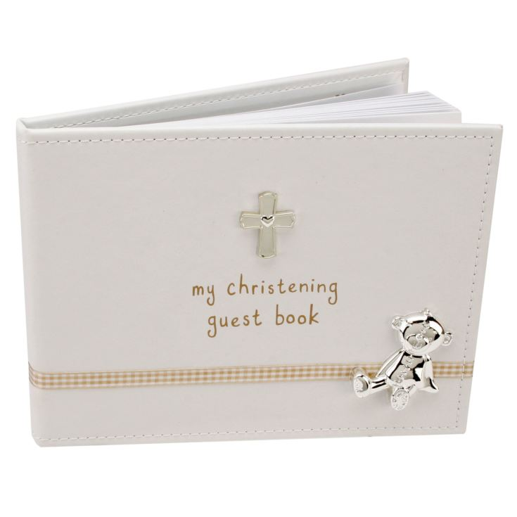 Button Corner My Christening Guest Book product image