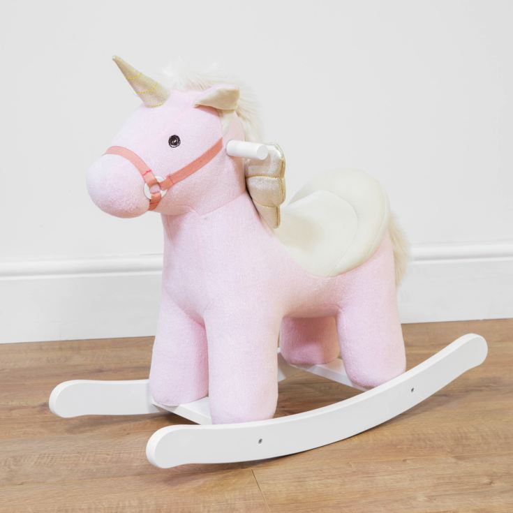 Pink Rocking Unicorn product image