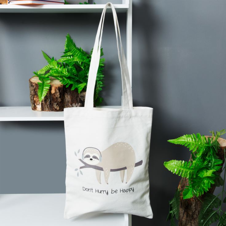 Animal Friends Canvas Shopper - Sloth product image