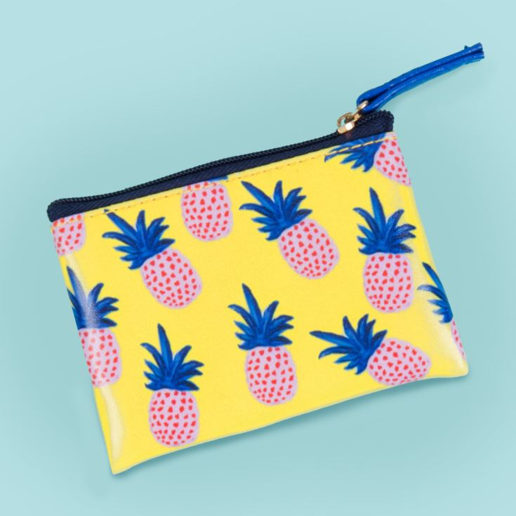 Pineapple Coin Purse with Gold Zipper product image