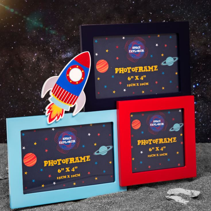 Space Explorer Multi Aperture Photo Frame product image