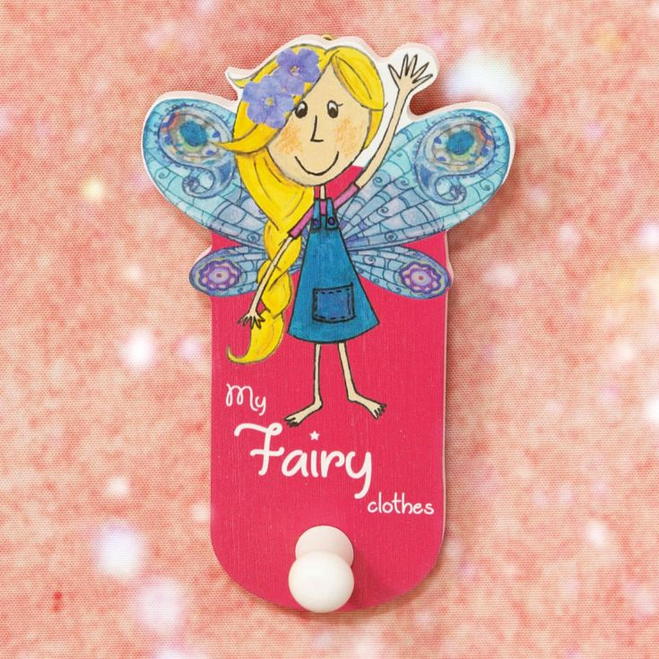 Magical Fairy Pink Wall Hook - My Fairy Clothes product image