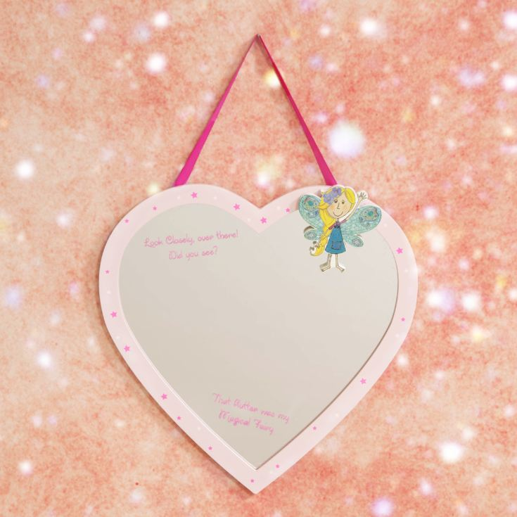 Magical Fairy Heart Shaped Mirror product image