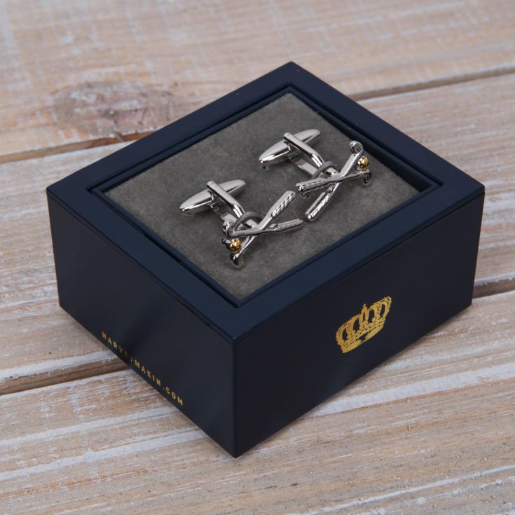 Harvey Makin Cufflinks - Golf Clubs product image