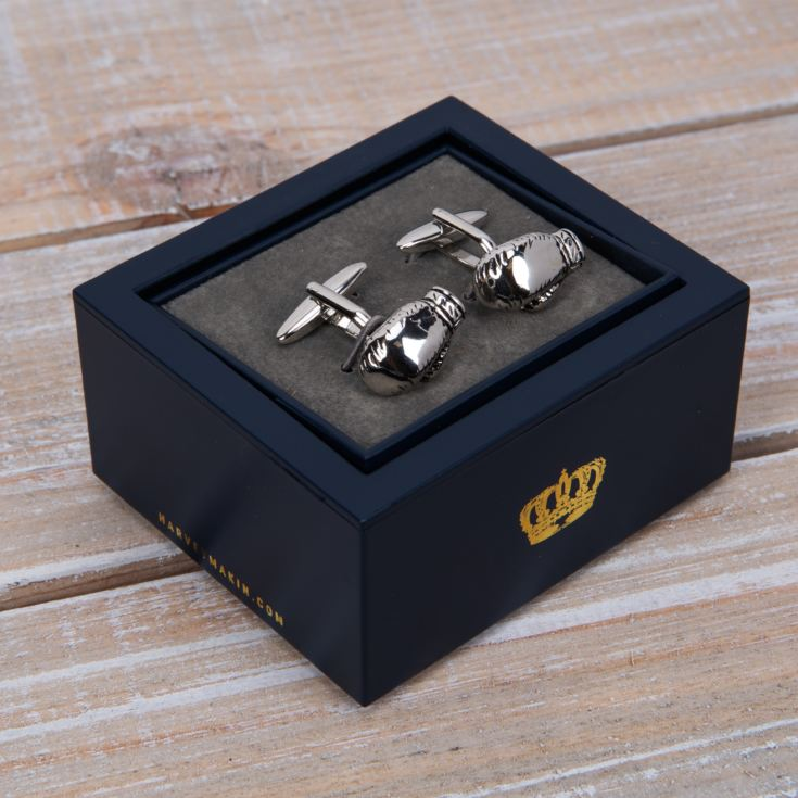 Harvey Makin Cufflinks - Boxing Gloves product image