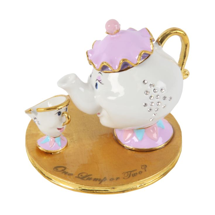 Disney Classic Trinket Box - Mrs Potts and Chip product image