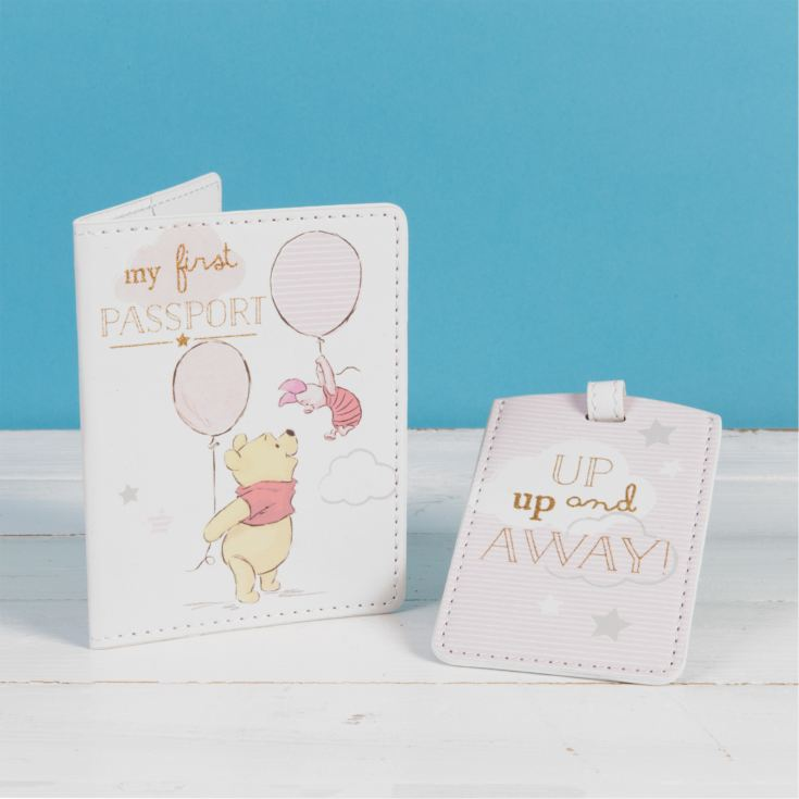 Disney Magical Beginnings Passport & Luggage Tag Pooh Girl product image